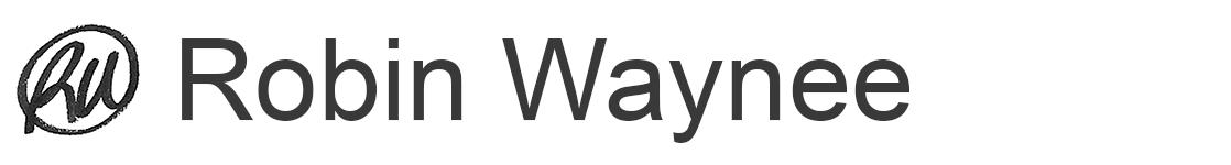 Robin Waynee Logo